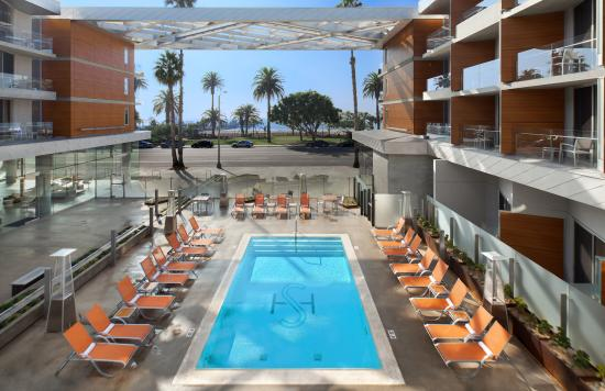 Shore Hotel: Pool Deck