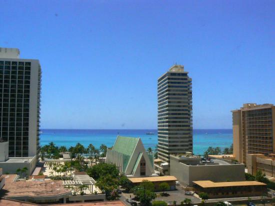 Waikiki Banyan: ワイキキ・バニヤン 部屋からの景色