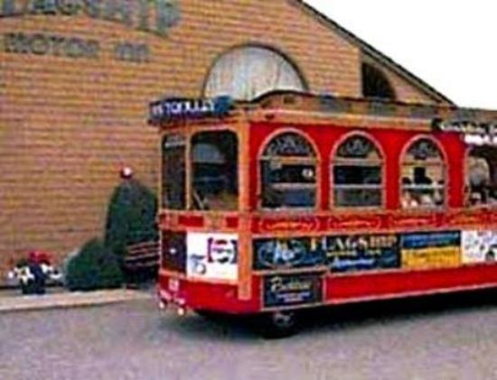 Flagship Inn: Trolley