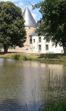 chteau de chamerolles chteau de chamerolle vu du jardin - Chateau De Chamerolles Mariage