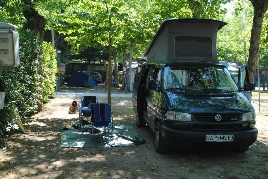 Campeggio Europa: Standplatz