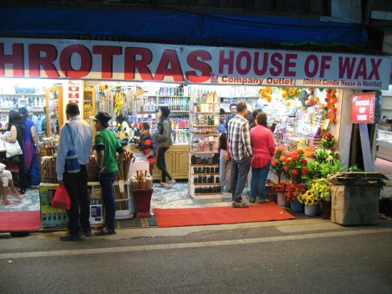 Nainital, India: Gift shop