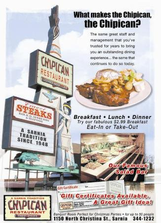 Chipican Motel: Restaurant
