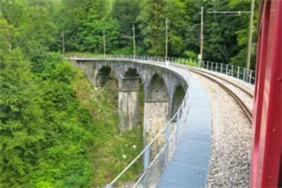 Railway Museum Blonay-Chamby : Auf der Strecke Blonay-Chamby