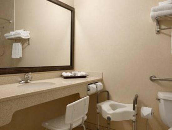 Travelodge Strathmore: ADA Bathroom