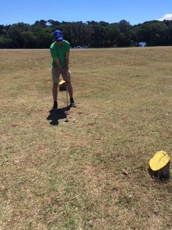 Brijuni Golf Course: Abschlag
