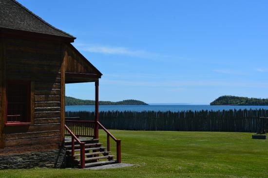 Grand Portage, MN: Au bord du Lac Superior