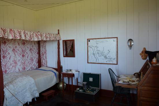 "Grand Portage, Миннесота: La chambre du ""commandant"""