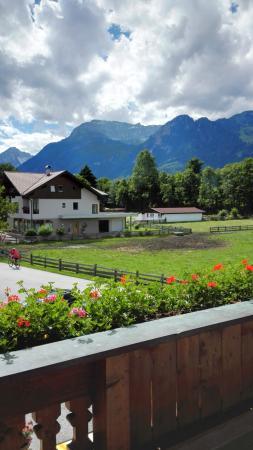 Radfeld, Austria: Aussicht vom Balkon