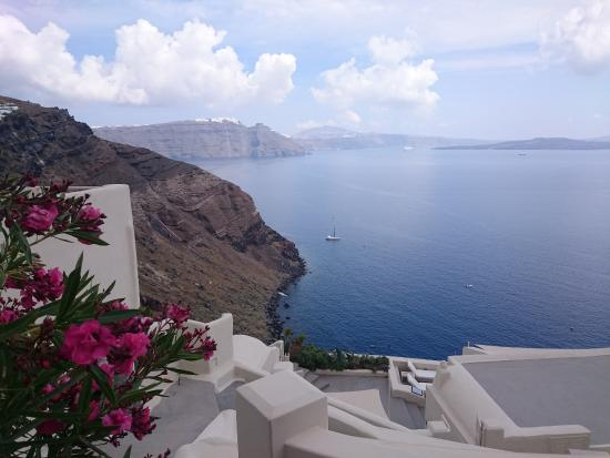 Lava Oia's: View from the patio