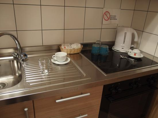 Hotel du Faucon Fribourg (Small kitchen unit)