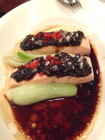 Me Wah : Black bean Atlantic salmon. Creative and excellent combinations!!!