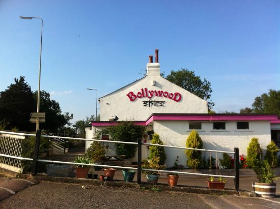 Bollywood Spice : edificio principal. carretera de Ely