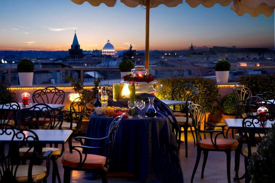 Marcella Royal Hotel: Roof Garden