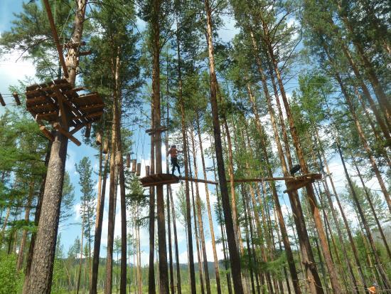 Zabaykalsky Krai, Rússia: Веревочный парк