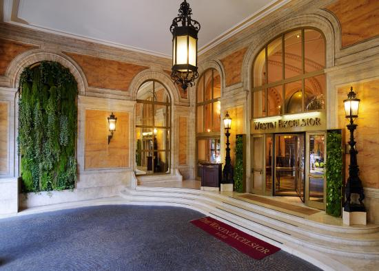 The Westin Excelsior, Rome: Exterior