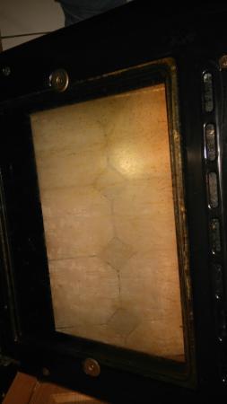 Burrells Beachside Properties: oven door on arrival
