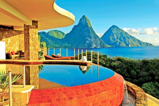Jade Mountain Resort : Suite