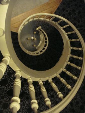 La Maison du Champlain : stairs are great