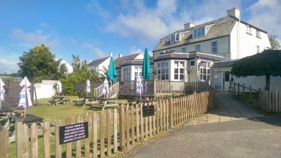 Carbeile Inn: Beer Garden and the Inn
