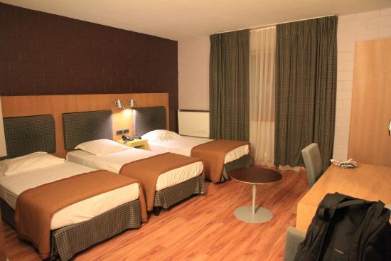 Eurocap Hotel : 3-х местный номер