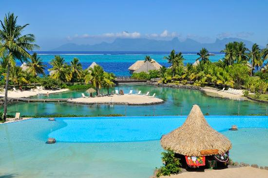 Faa'a, French Polynesia: Te Tiare swimming Pool