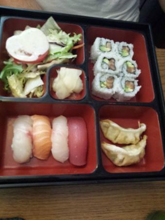 chicken teriyaki bento box picture of sushi wa london tripadvisor. Black Bedroom Furniture Sets. Home Design Ideas