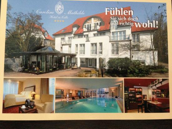 Hotel Caroline Mathilde: Эту открытку мне прислал муж и отеля)))