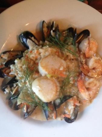 Lakeside Restaurant: Seafood Risotto Entree