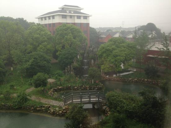 Yidu, China: fog's quite normal in this region