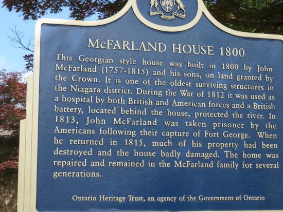 McFarland House: description