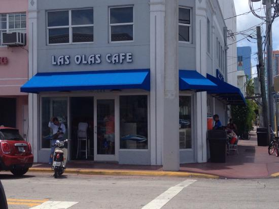 Las Olas Cafe Corner Of Euclid And 6th View