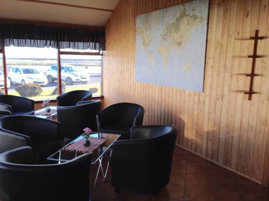 Hotel Hofdabrekka: Common area in our building of rooms