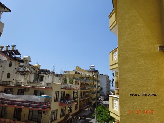 Bayram Apart Hotel: вид с балкона