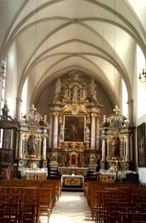 Church of St. John the Baptist (Eglise de St-Jean Baptiste): Baroque interior