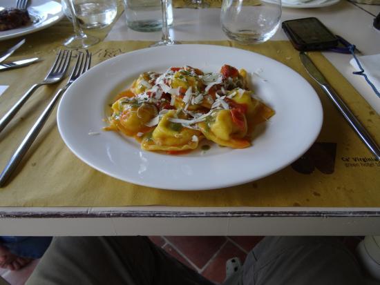 Ca' Virginia Country House & Wellness: Ottima ristorazione