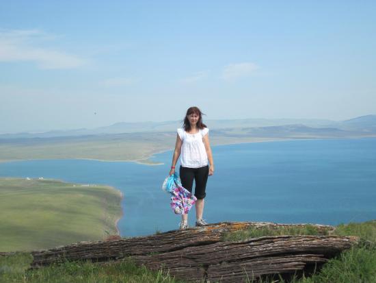 Zhemchuzhnyy, Russie: вид на Белё с Чалпана