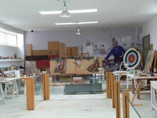 Atelier de c sar manrique foto van casa museo cesar - Casa museo cesar manrique ...