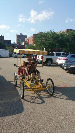 World On Wheels Segway Tours and Bike Rentals : Two person bike ride