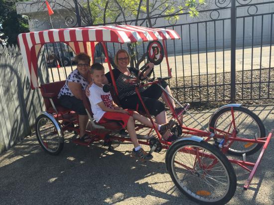 World On Wheels Segway Tours and Bike Rentals : Quad bike ride