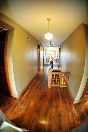 Balch Hotel : Hallways with wood floors