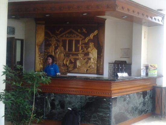 The Imperium International Hotel: reception