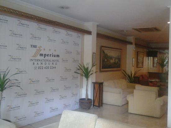 The Imperium International Hotel: lobby hotel