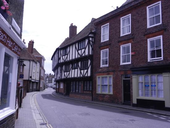 As you walk towards the Red Cow we marveled at the buildings