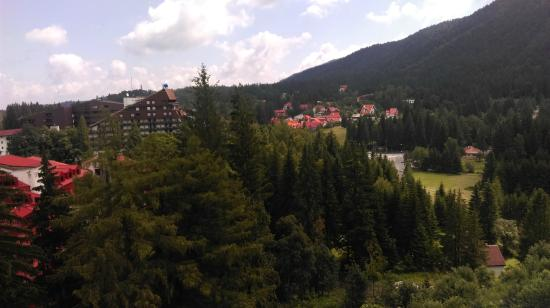 Poiana Brasov: Quite a view from my hotel window