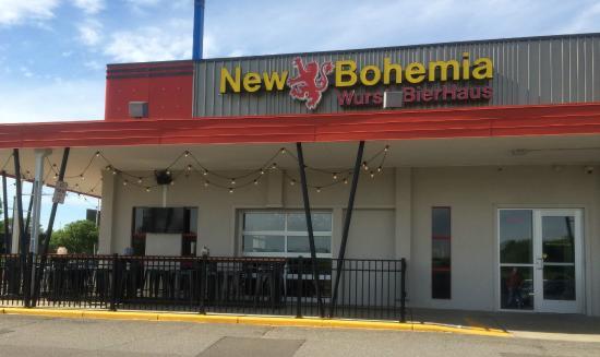 New Bohemia Wurst Bierhaus Golden Valley Mn