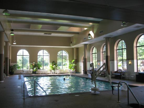 Indoor Pool Picture Of Sheraton Parsippany Hotel