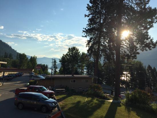 Villa Motel: View from balcony