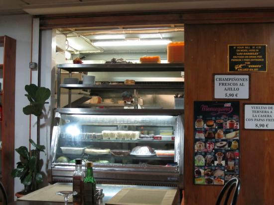 Restaurante los danieles en mog n con cocina otras cocinas for Cocinas europeas