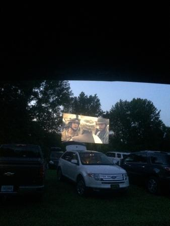 Rockport, IN: We loved the drive-in theater'